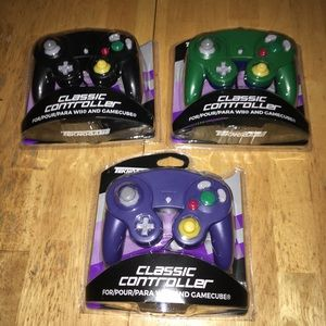 GameCube controller lot of 3